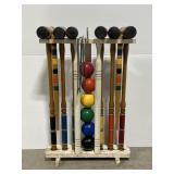 Vintage croquet set - complete