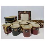 Sonoma Happy Trails ceramic dish collection