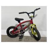 Vintage red rampage dirt racer kids bike