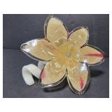 Murano glass flower