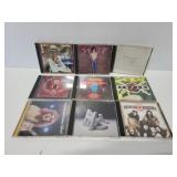 Classic rock CD collection