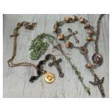 Catholic religious rosary pieces & pendants