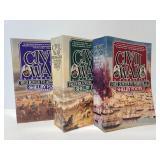 Three volume set of The Civil War books