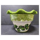 Twp piece flower pot
