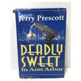 Deadly Sweet Ann Arbor MI murder mystery book