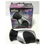 Braun EGo track hair dryer -European plug