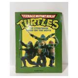 Vintage teenage mutant ninja turtles storybook