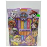New childrens Paw Patrol little book set
