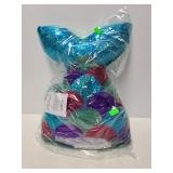 New 2 Scoops sequin mermaid tail pillow