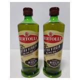 Two Bertolli Extra virgin olive oil