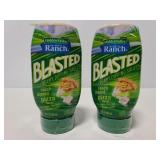 Two Hidden Valley Ranch blasted sauce