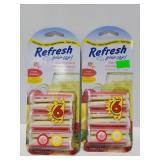 New Refresh vent air fresheners