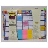 New Post It weekly planner blue