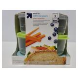 Up&up lunch kit with ice pack, new