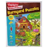Highlights hidden pictures Barnyard Puzzle book
