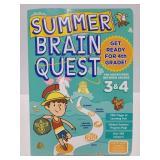 Summer Brain quest workbook for grade 3&4