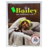 Bailey no ordinary cat book