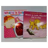 Two new childrens board books
