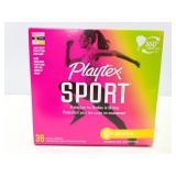 Playtex super plus sport tampons , new