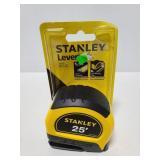 New Stanley Lever lock measuring tape