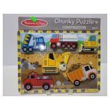 Melissa & Doug Chunky puzzle construction