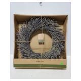 New Smith & Hawken Lavender Wreath