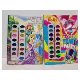 Princess & Trolls paint activity books