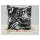 Decorative tassel trim pillow