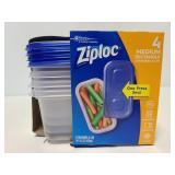 Ziploc Medium rectangle food storage containers