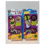 Two Retro Kaps pog packs