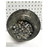Can of lug nuts