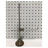 Old metal calibration stand tool
