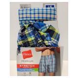 Size Large Mens tagless boxers 2pk