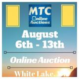 MTC August 6th - 13th Online Auction