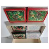 Set of 8 Christmas tins