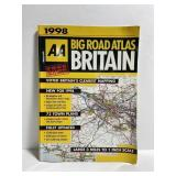 1998 Britain big road atlas