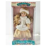 16in Porcelain doll, new in box