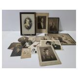 Antique photo collection