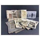 Antique black & white photo collection