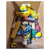 Bin of old toys