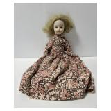 Old vintage porcelain doll