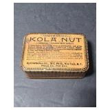 Kola Nut small tin