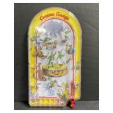 Schylling curious George handheld pinball game