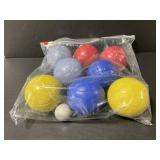 Vintage bocce ball set