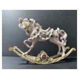 Vintage hand painted porcelain pony