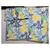 Quilt style 100% cotton blanket/bedspread