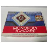 Vintage Monopoly Playmaster game accessory