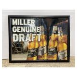 MGD Miller genuine draft bar mirror