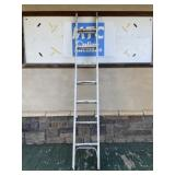 Huge 16 foot extendable metal painters ladder