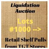 Retail Liquidation Products ~ Lots #1000 and up